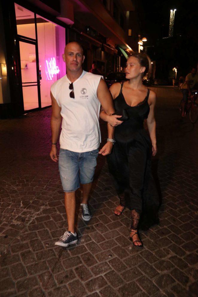 Bar Refaeli Night Out In Tel Aviv