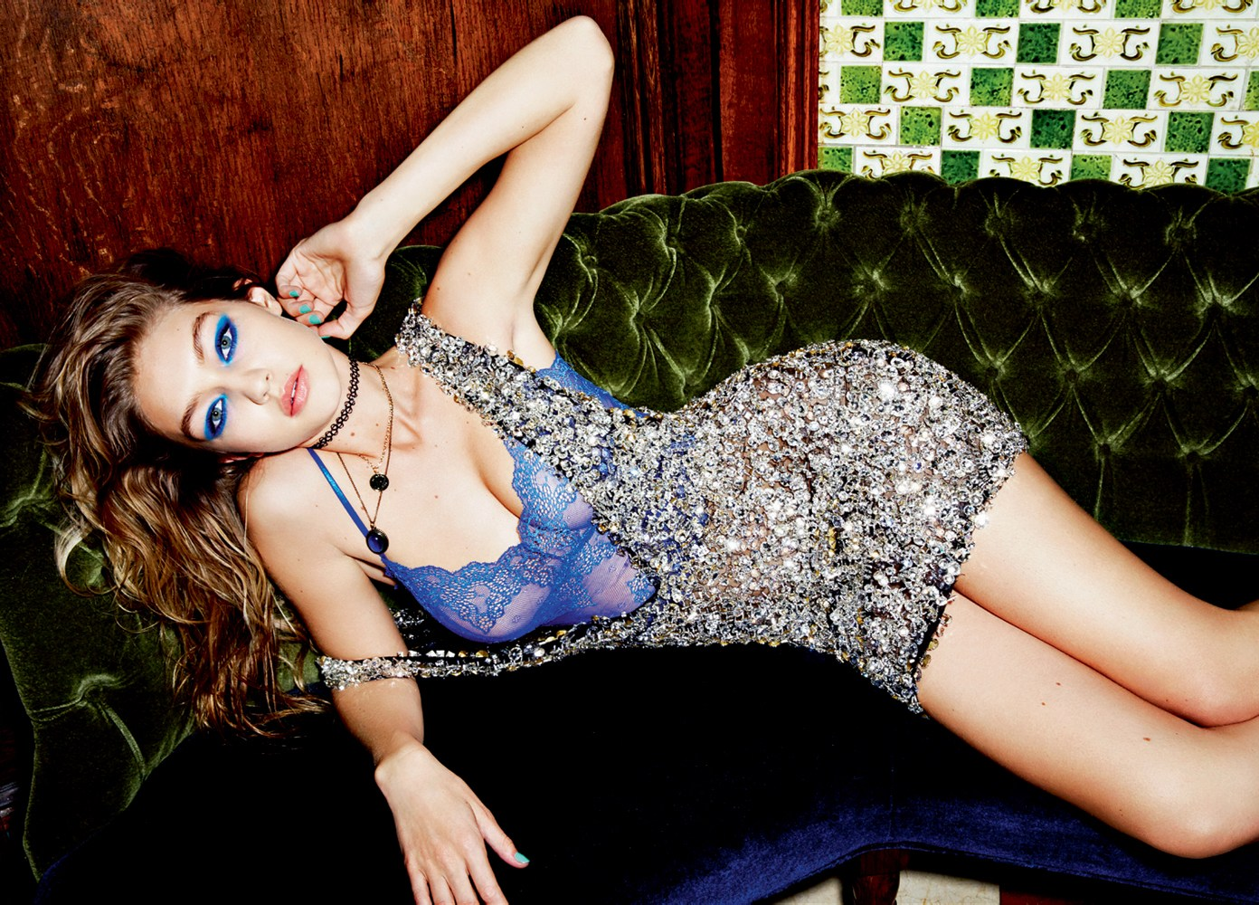 Bella and Gigi Hadid LOVE Magazine 2016 04  GotCeleb