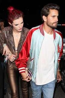 Bella Thorne And Scott Disick Leaving Lana Del Rey