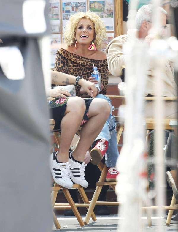 Britney Spears Filming Pretty Girls -30 - Gotceleb