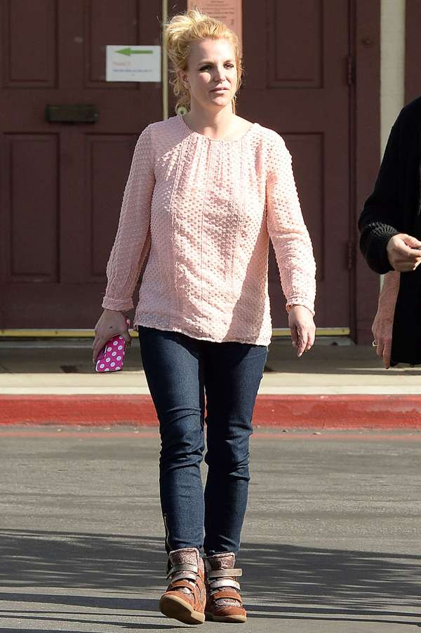Britney Spears Denim Jeans
