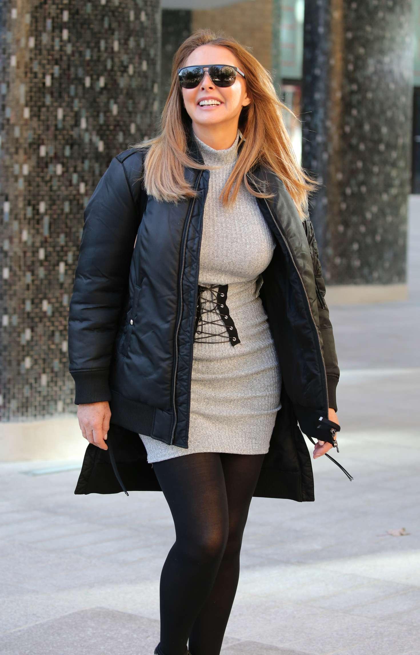 Carol Vorderman  Leaving ITV Studios in London  GotCeleb