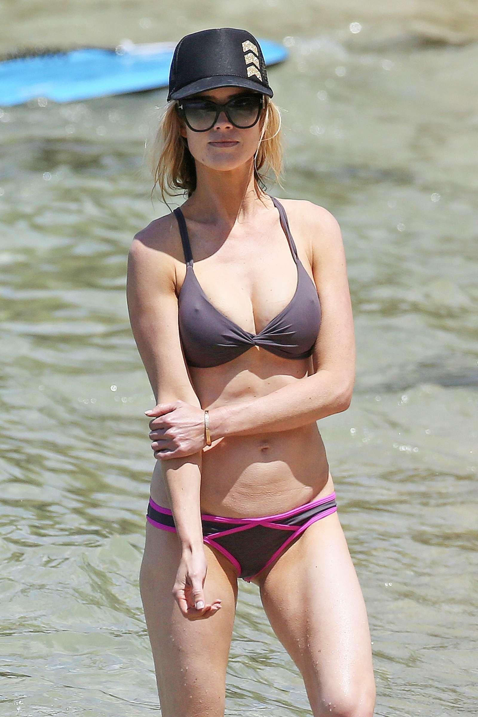 Christina El Moussa In Bikini On The Beach In Maui GotCeleb
