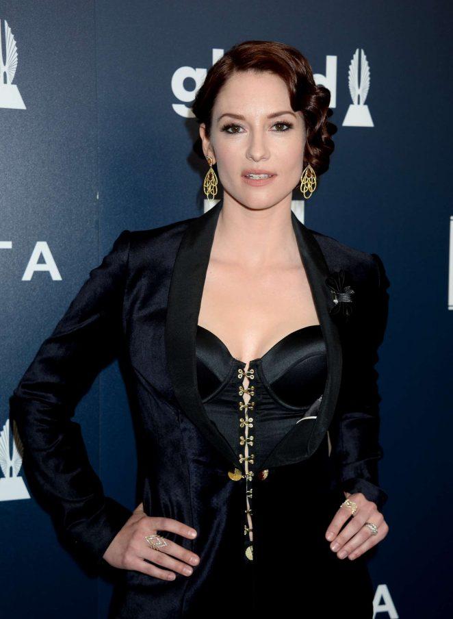 Chyler Leigh 2017 GLAAD Media Awards In Los Angeles