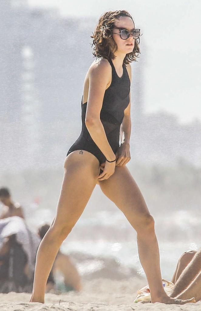 Daisy Ridley in Bikini  GotCeleb