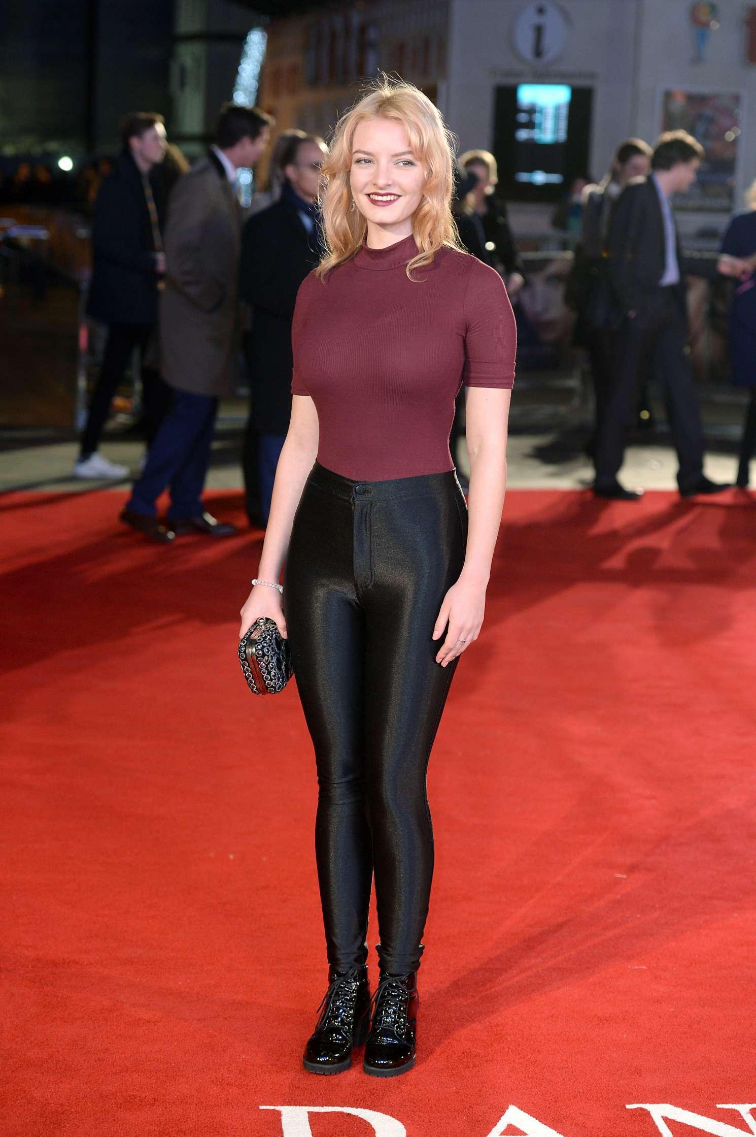 Dakota Blue Richards The Danish Girl premiere in London