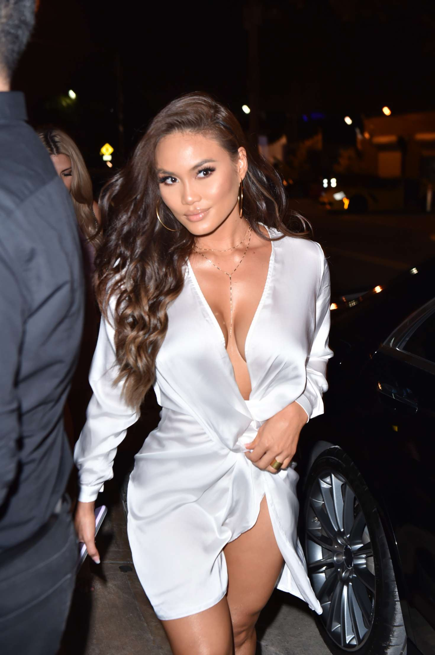 Daphne Joy At Kiki On The River In Miami GotCeleb