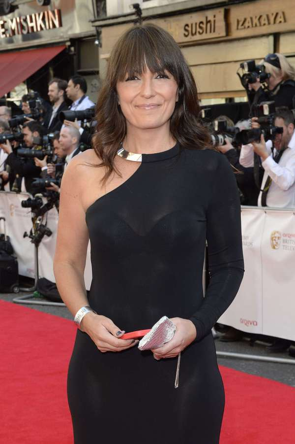 Davina McCall British Academy Television Awards 2015 in