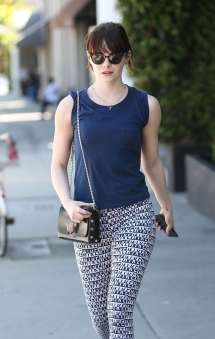 Emma Stone In Tights Workout Weho Gotceleb