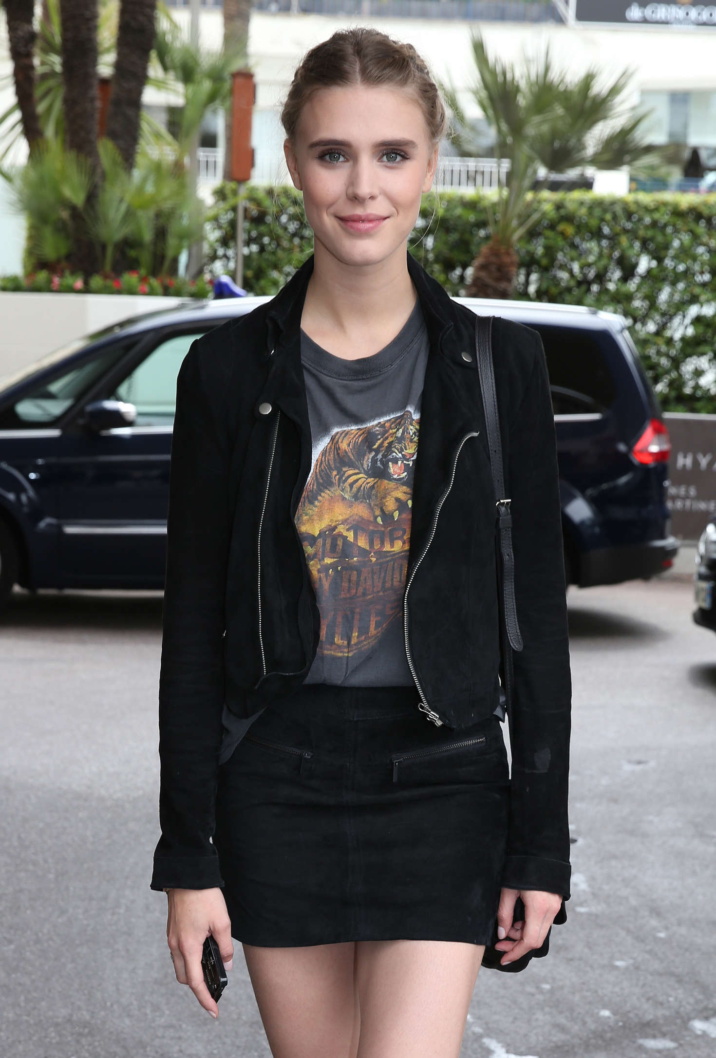 Gaia Weiss at Martinez Hotel in Cannes  GotCeleb