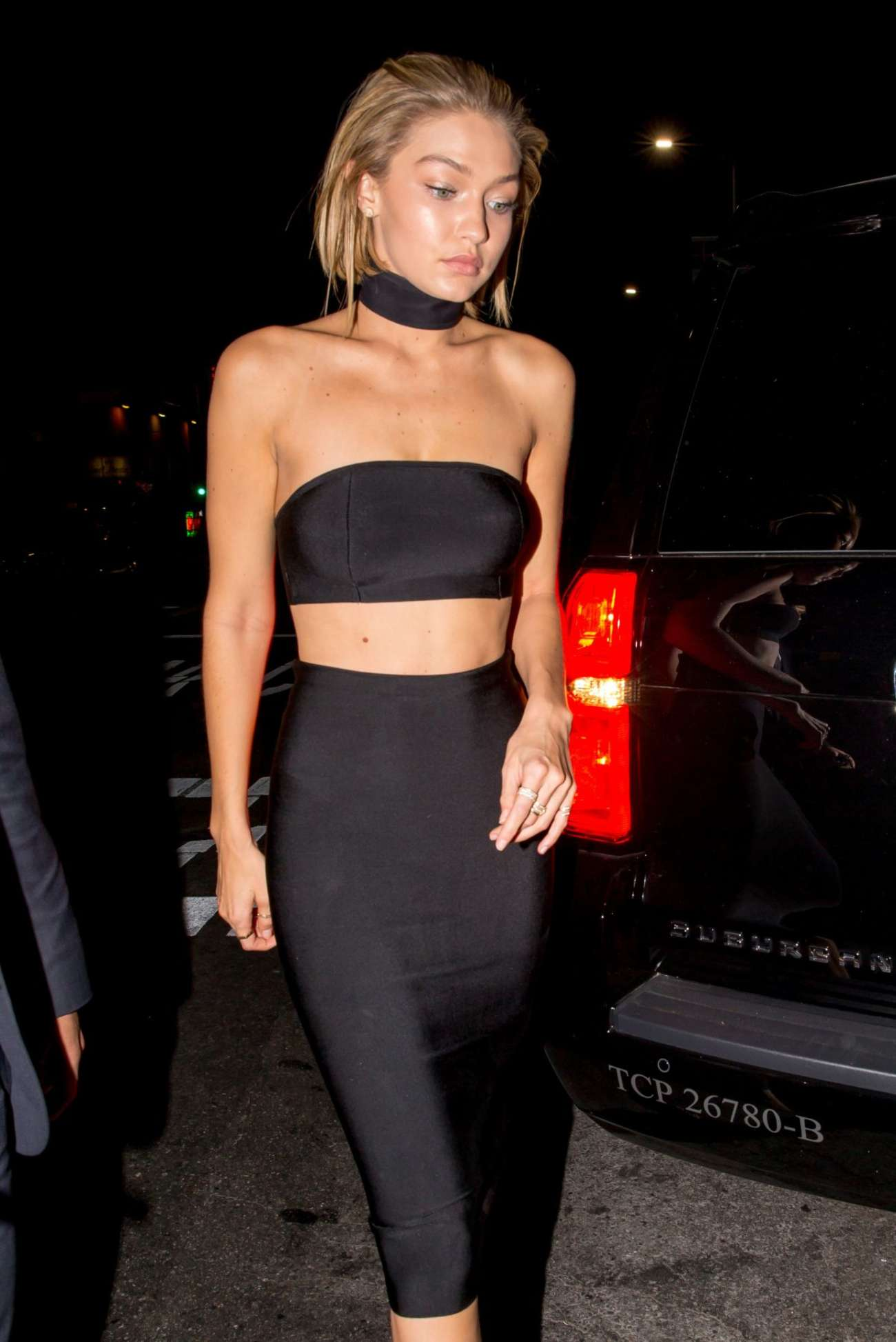 Gigi Hadid Leaves The Nice Guy In West Hollywood GotCeleb