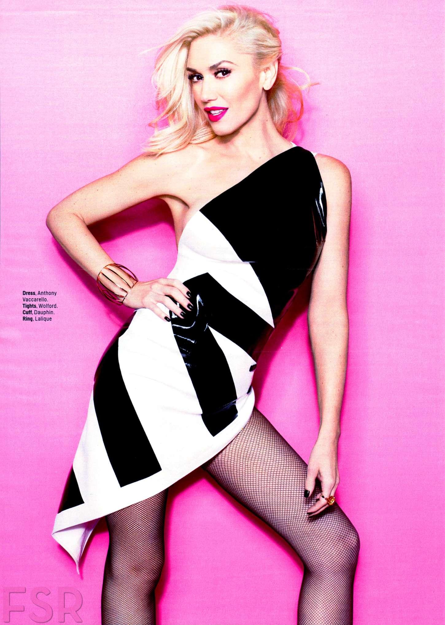 Cute Babies With Pink Dress Wallpapers Gwen Stefani Cosmopolitan Magazine March 2015 Gotceleb