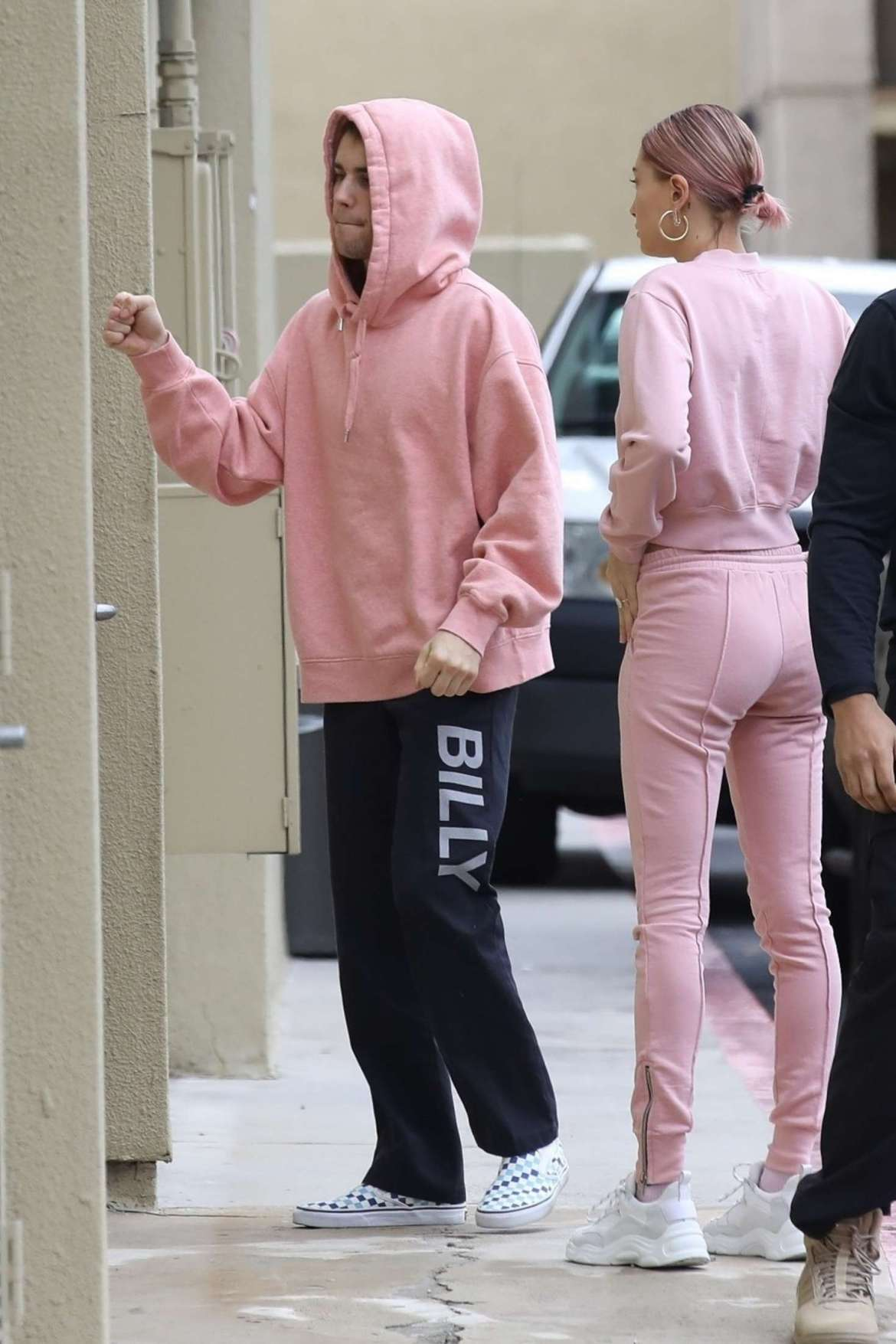 Hailey Baldwin and Justin Bieber – Arriving at West Valley Medical Center in Encino
