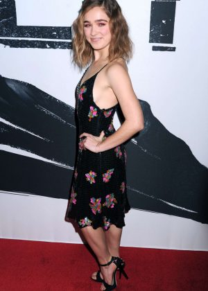 Haley Lu Richardson  SPLIT Screening in New York