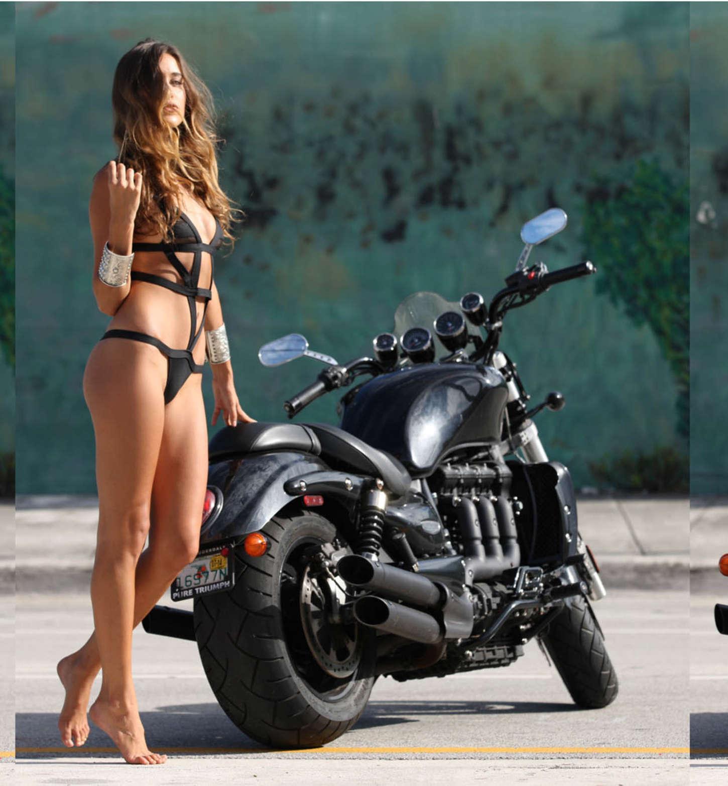Jehane Gigi Paris Motorcycle Diaries Shoot 2015 04