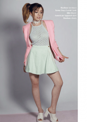 Jennette Mccurdy Afterglow Magazine May 2015