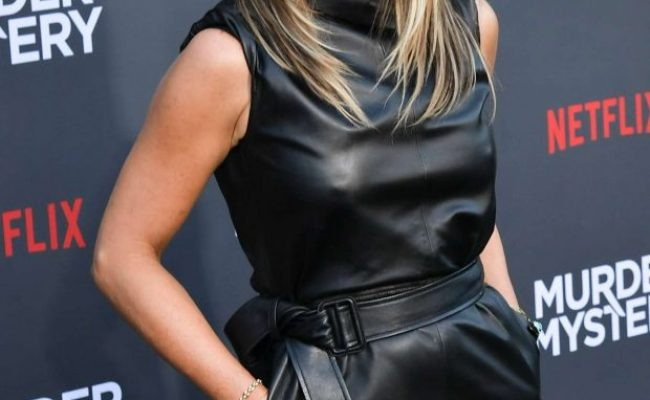 Jennifer Aniston Murder Mystery La Premiere 02 Gotceleb