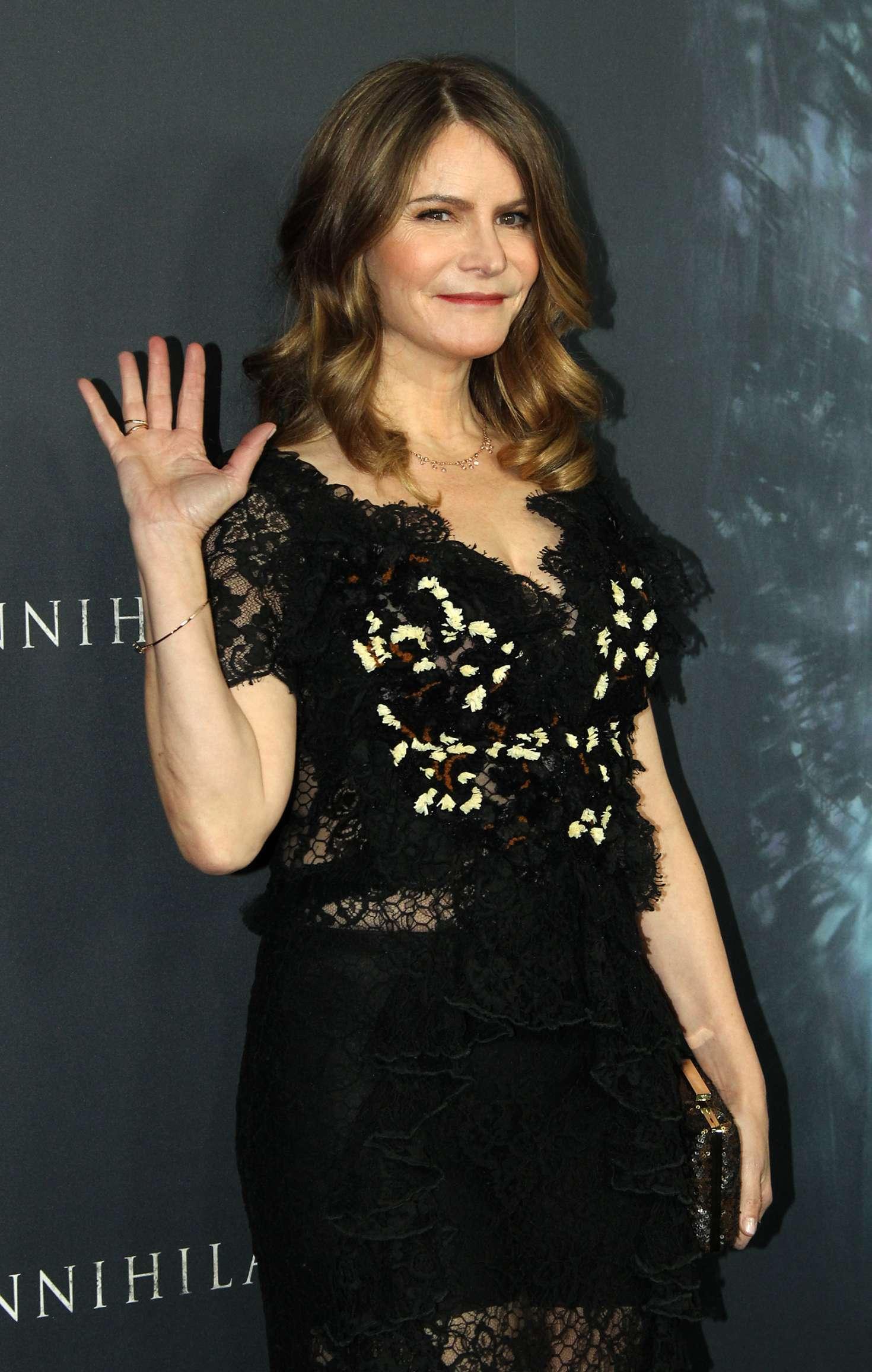 Jennifer Jason Leigh Annihilation Premiere In Los