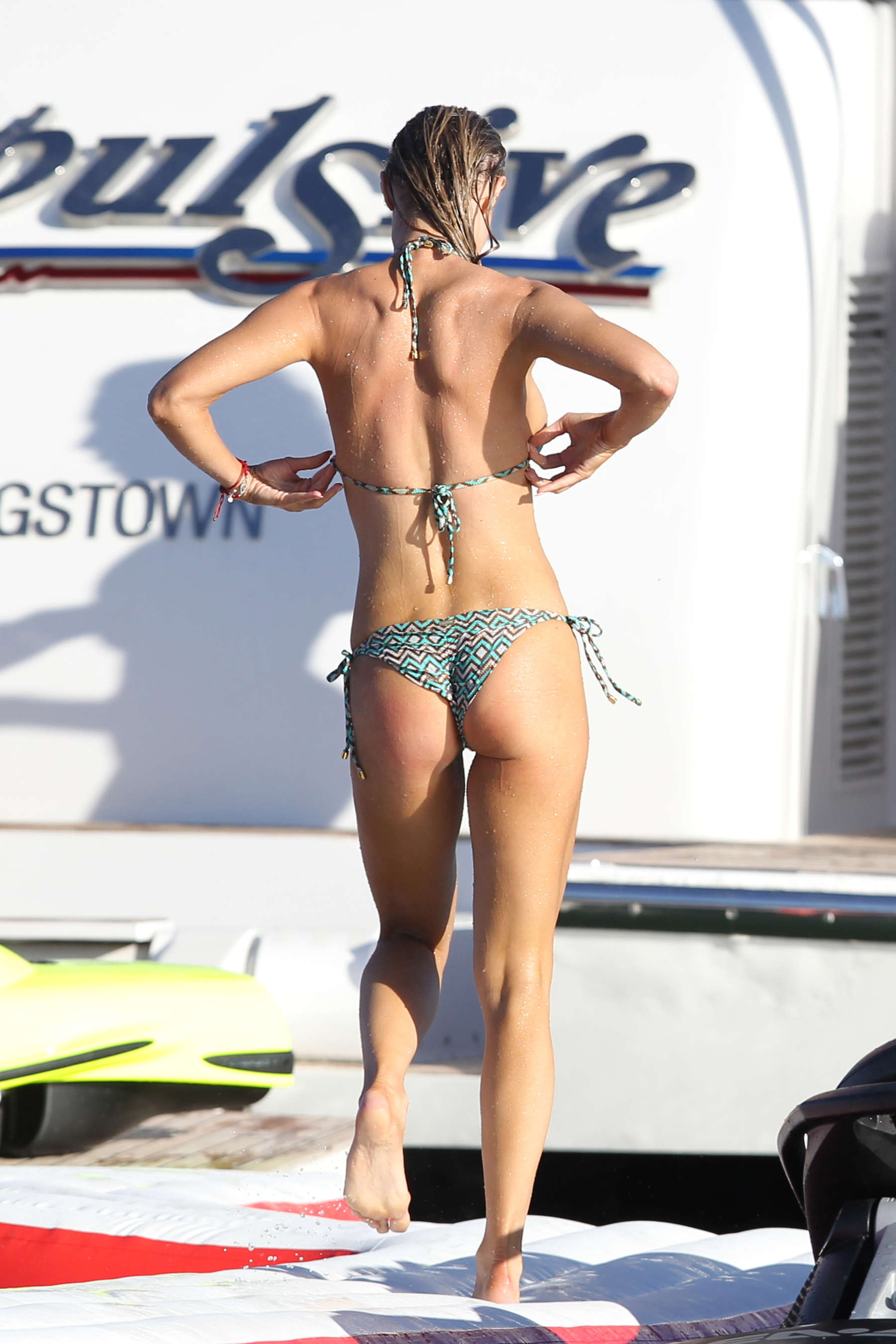 kitchen pants orange rugs joanna krupa in bikini -33 - gotceleb