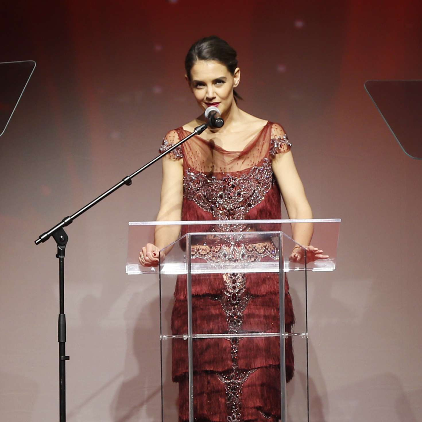 Katie Holmes American Heart Association S Go Red For