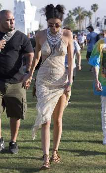 Kendall Jenner Coachella Valley Music And Arts Festival