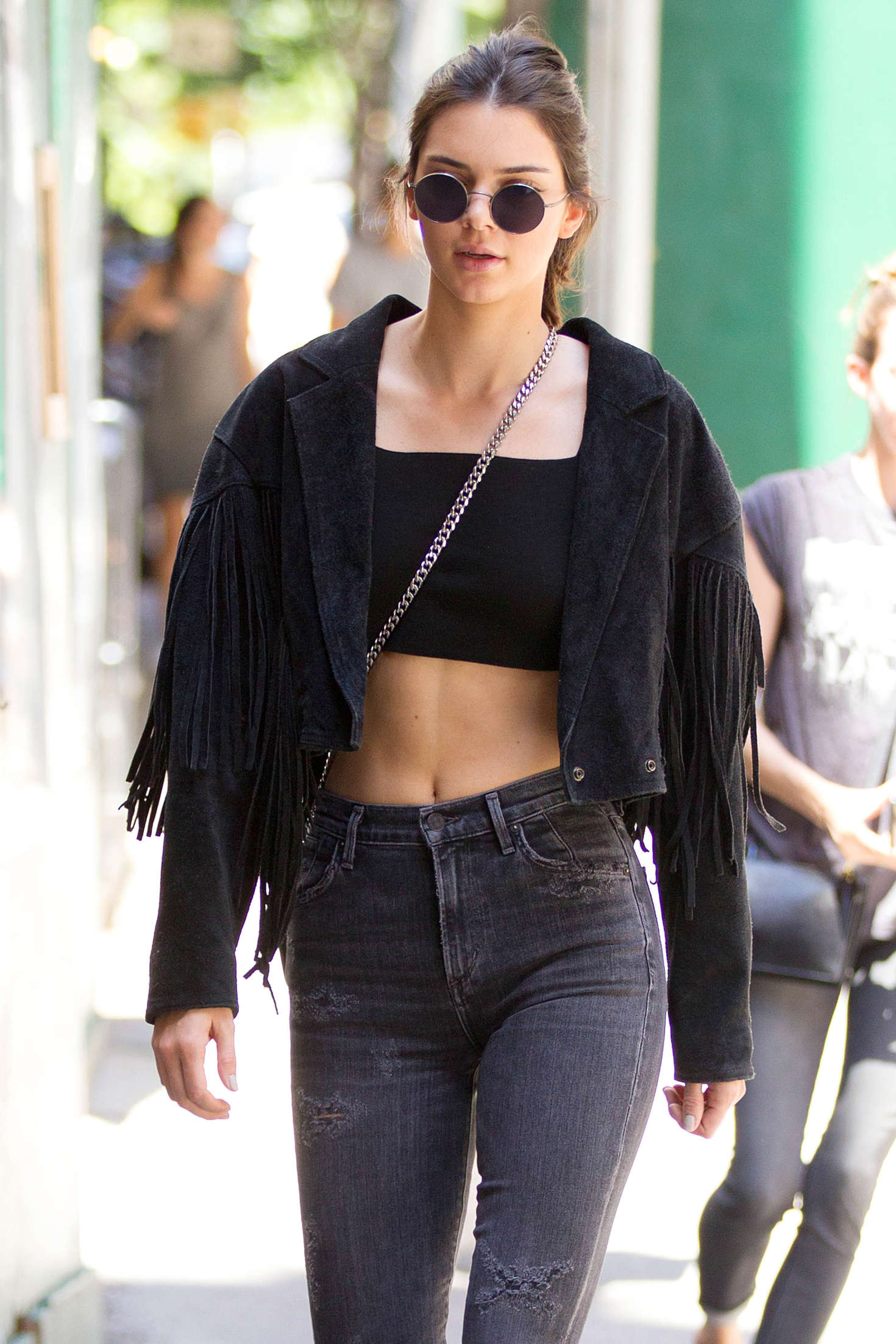 Kendall Jenner In Black Jeans 31 GotCeleb