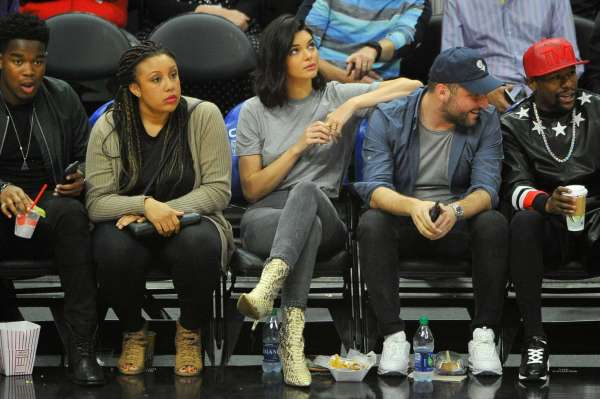 Kendall Jenner Los Angeles Clippers And Philadelphia