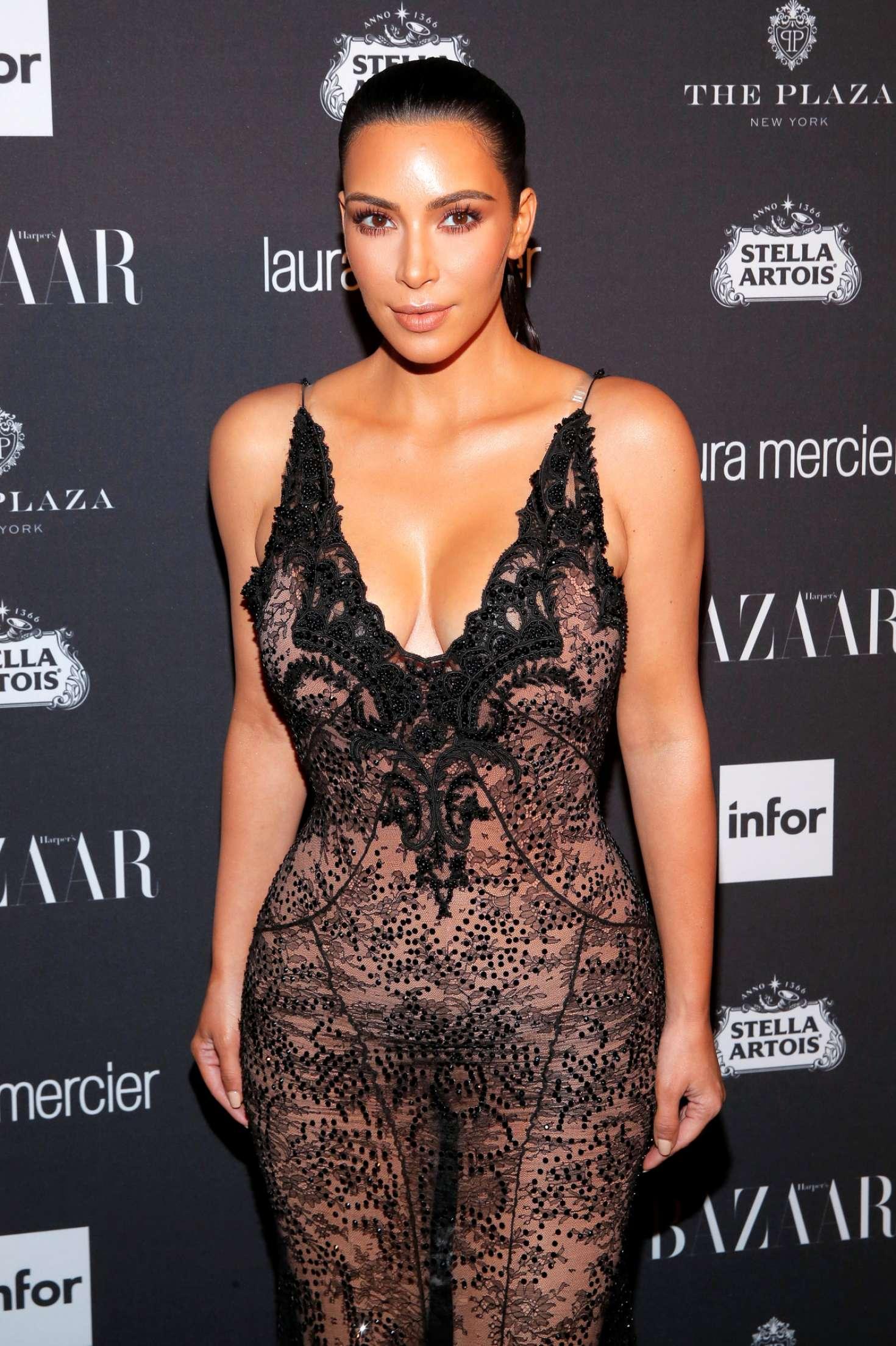 Kim Kardashian Harpers Bazaar Icons Party 2016 In NYC