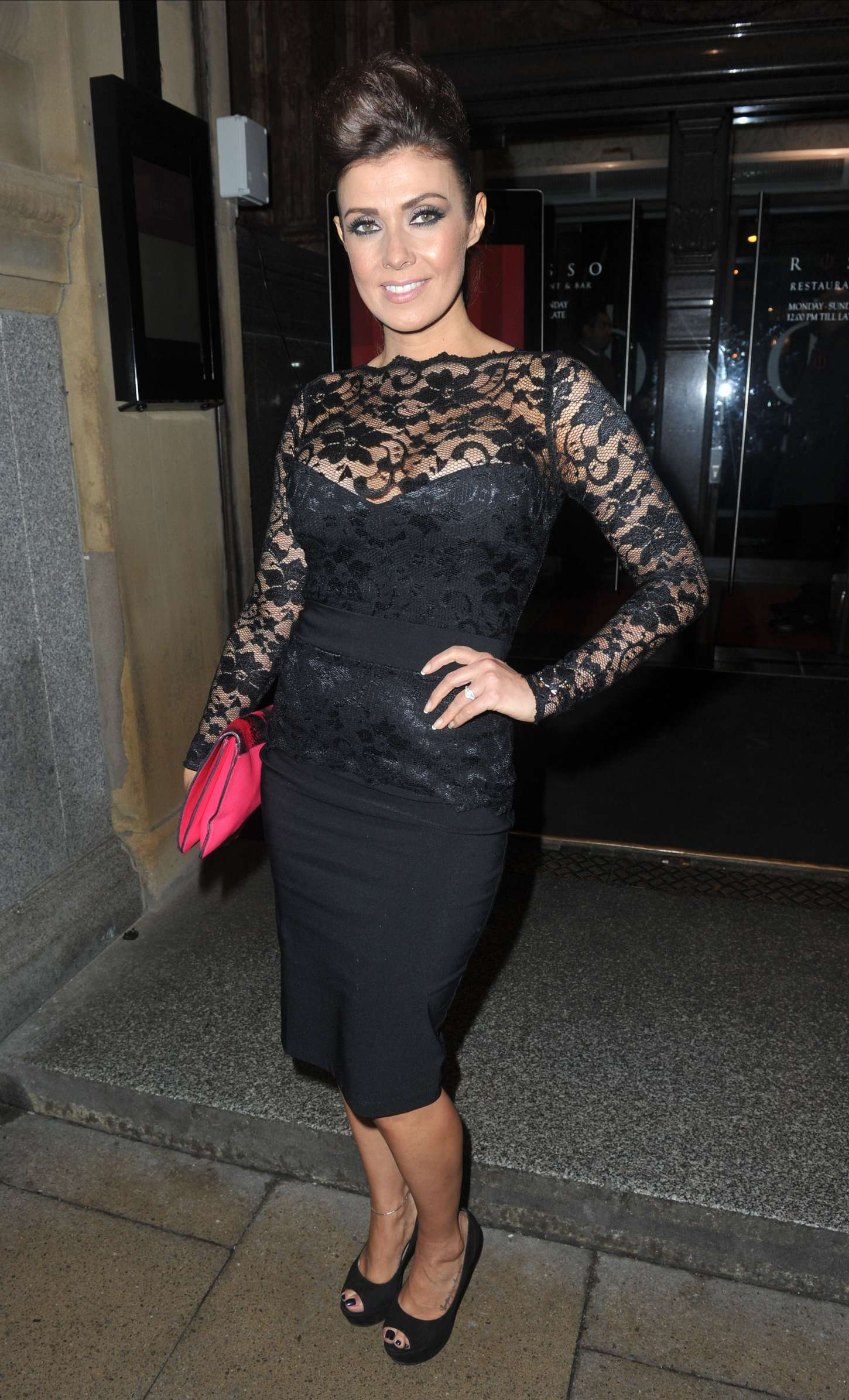 Kym Marsh Night Out At Rosso In Manchester GotCeleb