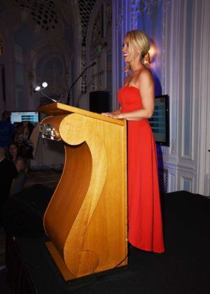 Laura Hamilton Make A Wish Sports Ball In London