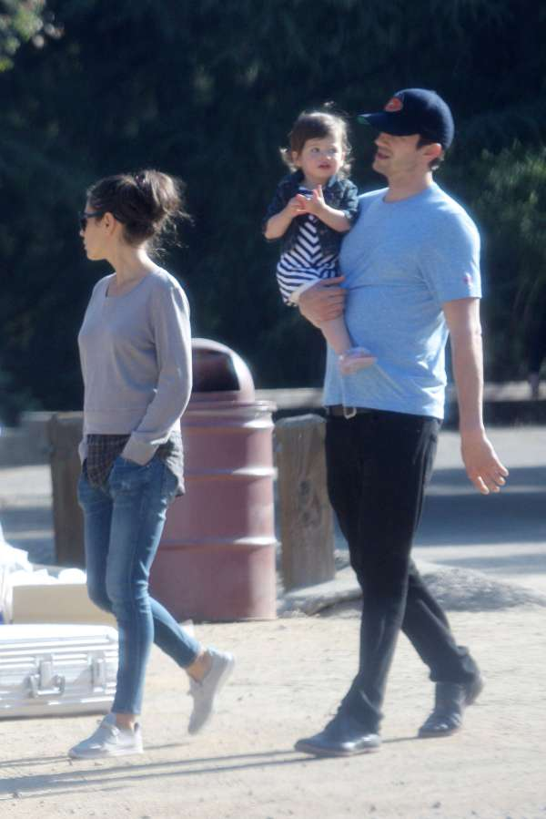 Mila Kunis With Family In La -21 - Gotceleb