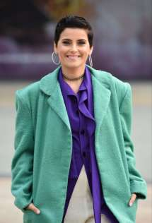 Nelly Furtado Arrives Bbc Breakfast Studio In