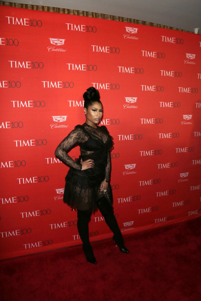 Nicki Minaj 2016 Time 100 Gala 03 GotCeleb