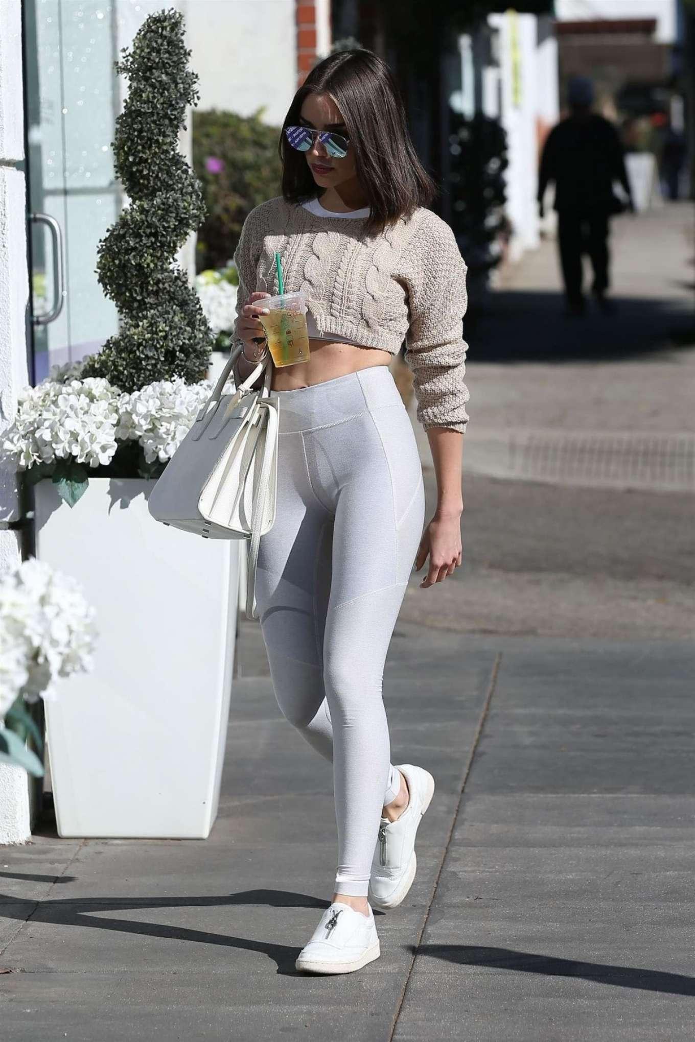 Olivia Culpo in White Tights 09  GotCeleb