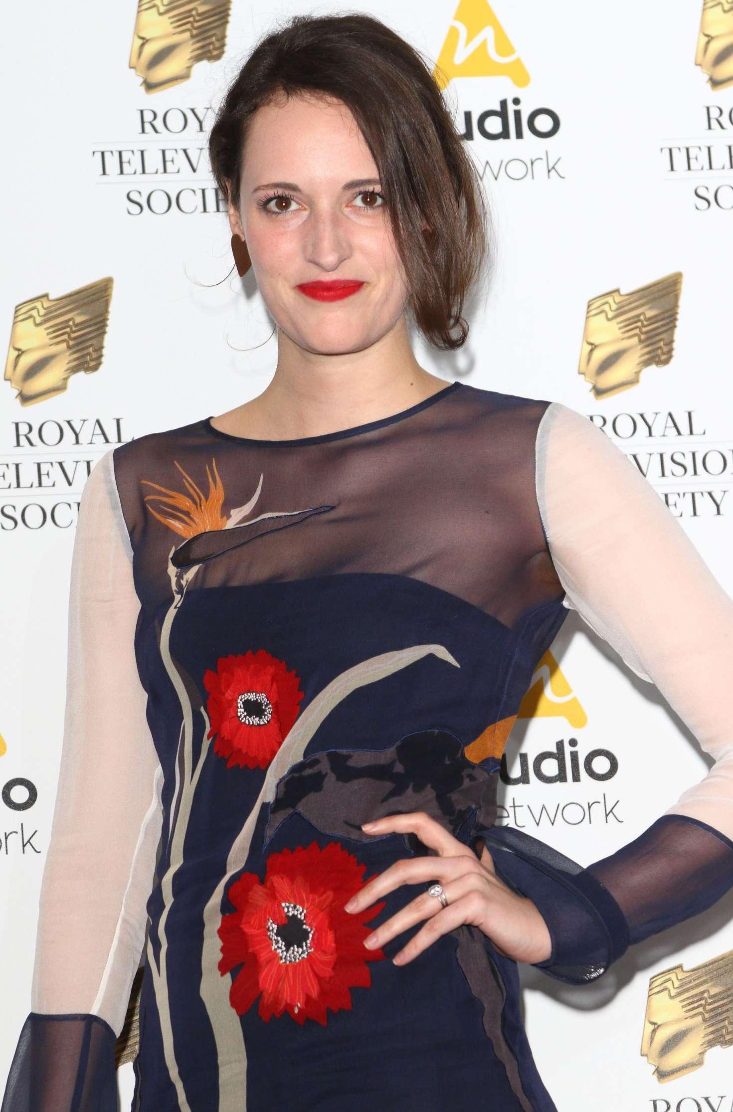 Phoebe WallerBridge  RTS Programme Awards 2017 in London