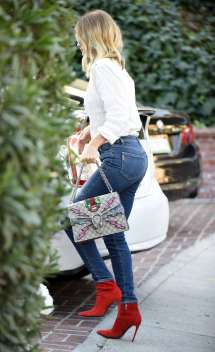Rosie Huntington Whiteley In Tightg Jeans -05 Gotceleb