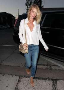 Rosie Huntington Whiteley In Jeans Craigs -10 Gotceleb