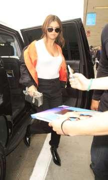 Selena Gomez at LAX Airport