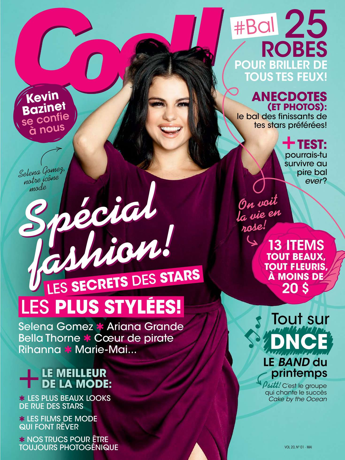 Selena Gomez  Coll Magazine May 2016  GotCeleb