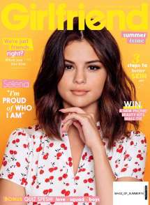 2018 Magazine Cover Selena Gomez