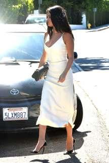 Selena Gomez In White Dress -03 Gotceleb