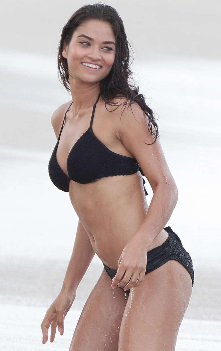 Shanina Shaik Bikini Photoshoot In Miami Gotceleb