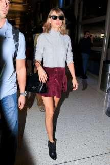 Taylor Swift Short Skirt Mini
