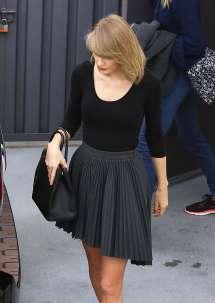 Taylor Swift Leaving Gym