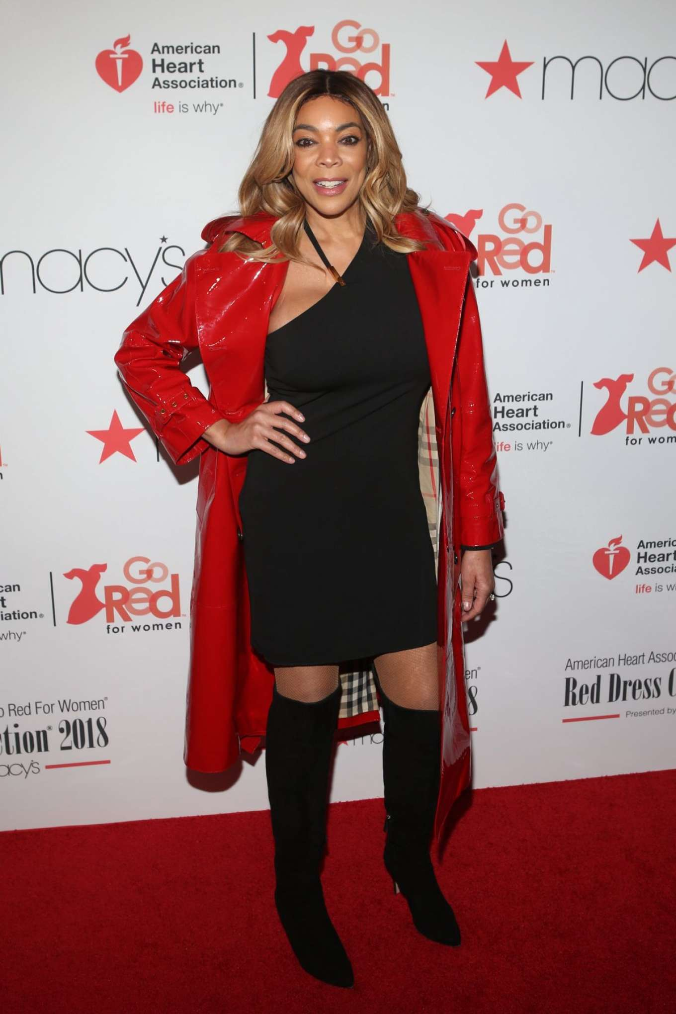 Wendy Williams American Heart Association S Go Red For
