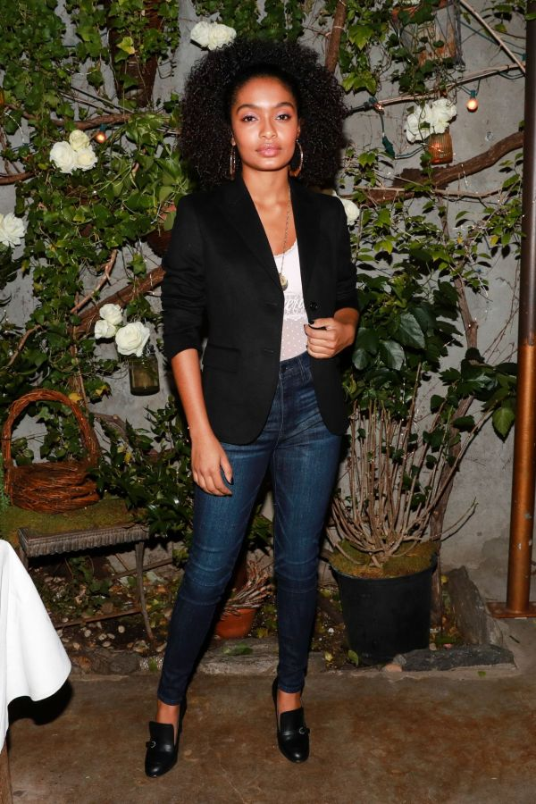 Yara Shahidi - Aeriereal Role Models Dinner Party In York