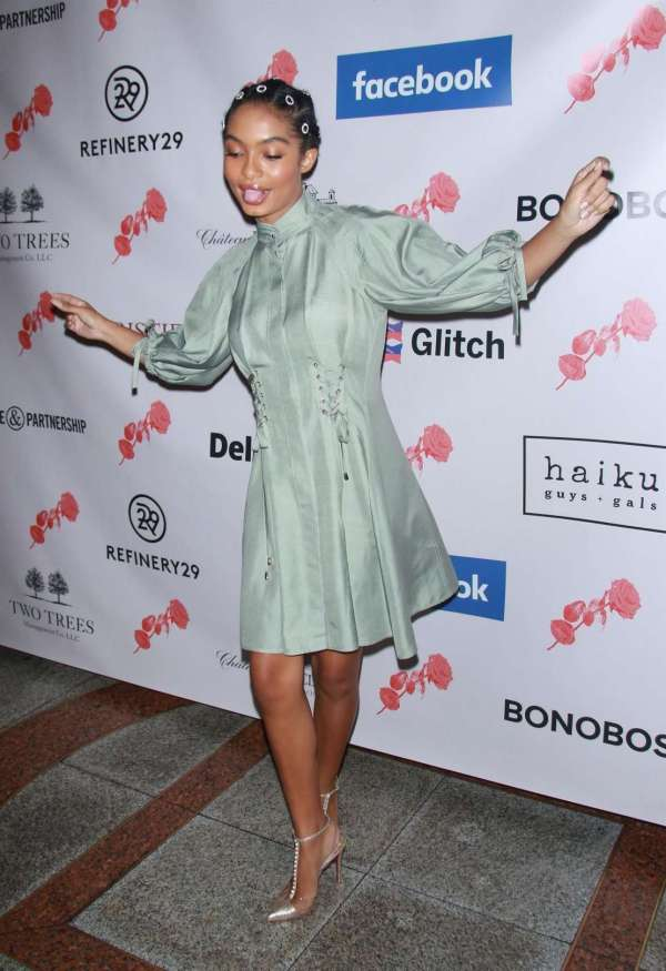 Yara Shahidi Lower Eastside Girls Club Spring Fling In York Gotceleb