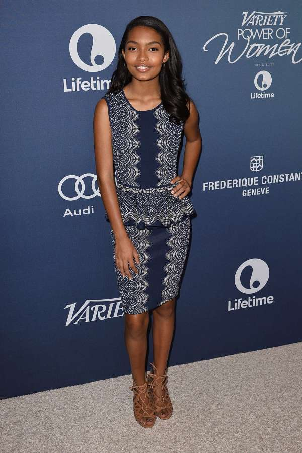 Yara Shahidi Variety 2015 Power Of Women Luncheon In Beverly Hills Gotceleb