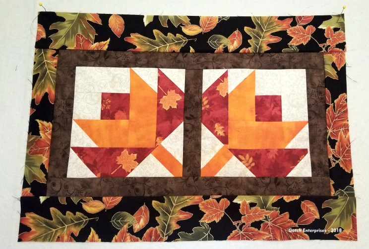 Beautiful fall-inspired fabrics