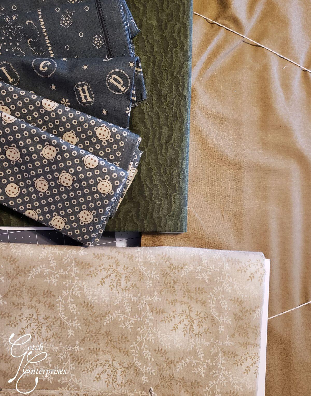 JCQG Mystery 2020 Fabric